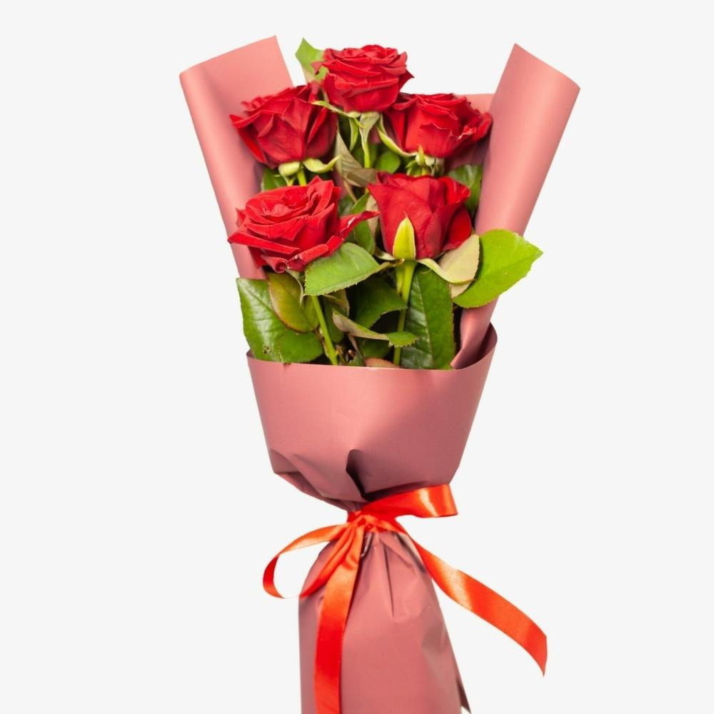 Букет комплимент из роз