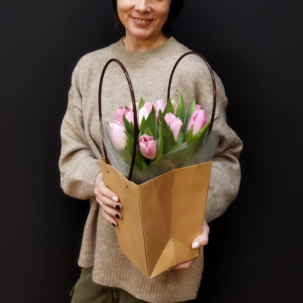 Тюльпаны в сумочке